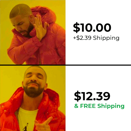 Free Shipping Costs Included